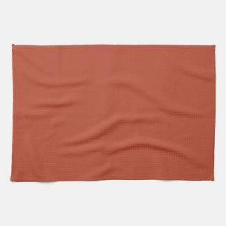 Desert Brick Color Hand Towels