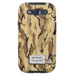 Desert Brown and Tan Military Camo Galaxy S3 Cases