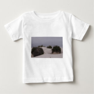 Desert Brush in White Sand Baby T-Shirt