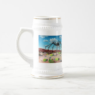 Desert Bug and Close Encounter Beer Stein