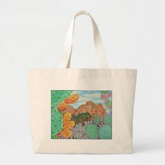 Desert Cacti Large Tote Bag