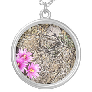 Desert Cactus Daisy Custom Necklace