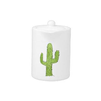 Desert Cactus Design Teapot