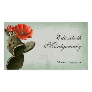 Desert Cactus Flower Professional Business Cards Business Card Templates