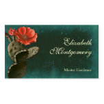 Desert Cactus Flower Professional Business Cards