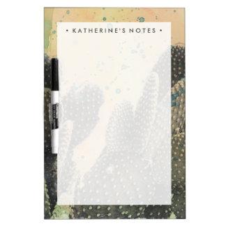 Desert Cactus | Green Splatter Dry-Erase Board