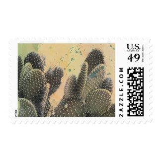 Desert Cactus | Green Splatter Postage