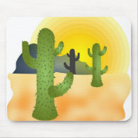 Desert Cactus Mousepads