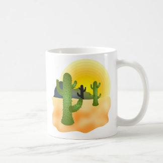 Desert Cactus Coffee Mugs