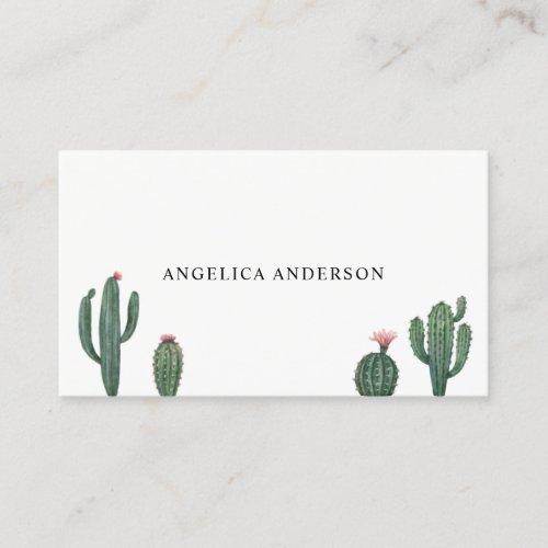 Desert Cactus Plants Business Card