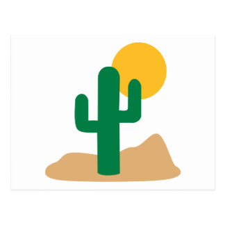 Desert cactus post cards