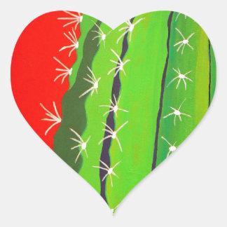 Desert Cactus Stickers