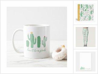 Desert Cactus Succulent Collection