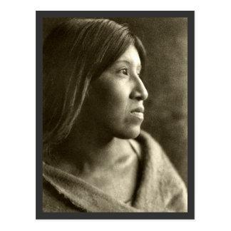 Desert Cahuilla Woman Postcard