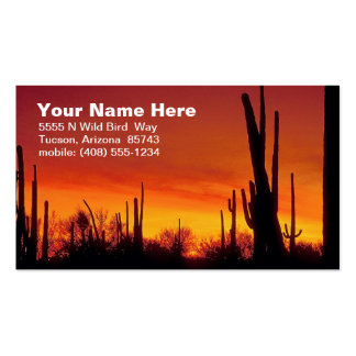Desert Calling Card Double-Sided Standard Business Cards (Pack Of 100)