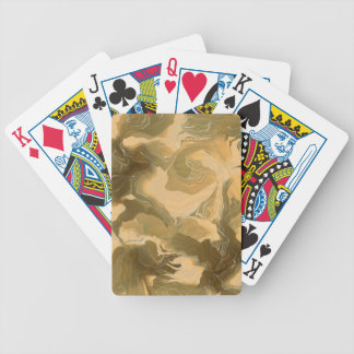 Desert Cammo Design Bicycle Playing Cards