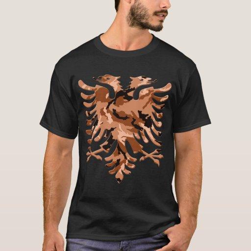 Desert Camo Albanian Eagle 3D Playera