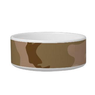 Desert Camo - Brown Camouflage Bowl