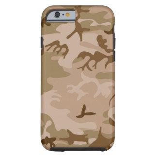 Desert Camo - Brown Camouflage Tough iPhone 6 Case