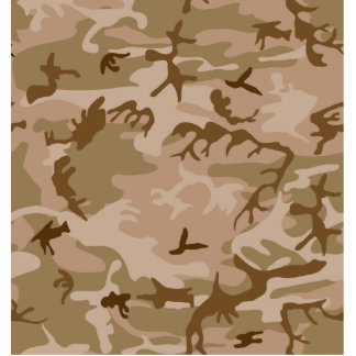 Desert Camo - Brown Camouflage Cut Outs