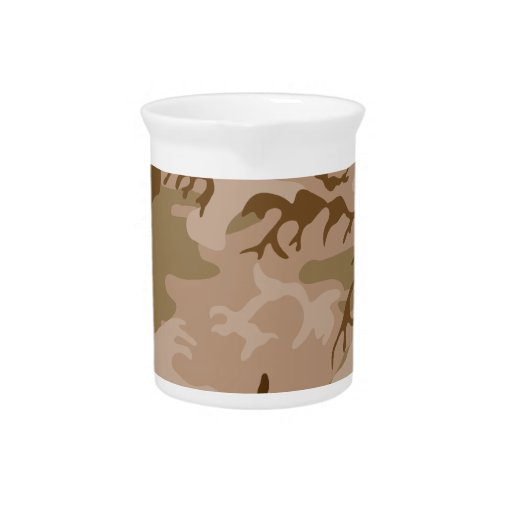 Desert Camo - Brown Camouflage Pitcher