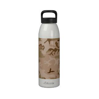 Desert Camo - Brown Camouflage Drinking Bottles