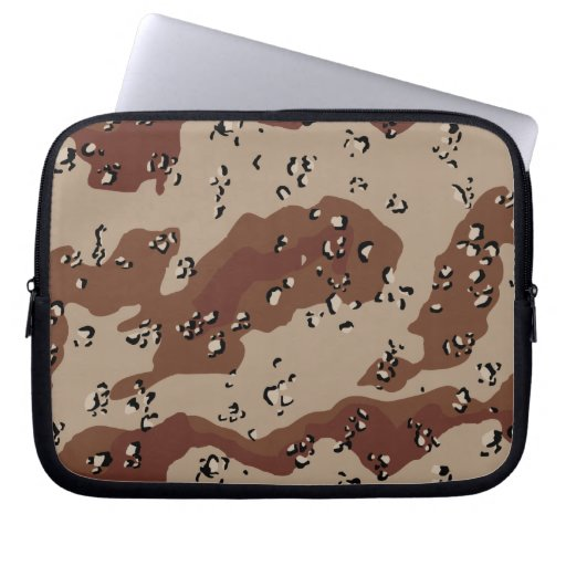 desert camo pattern camouflage print army laptop sleeves
