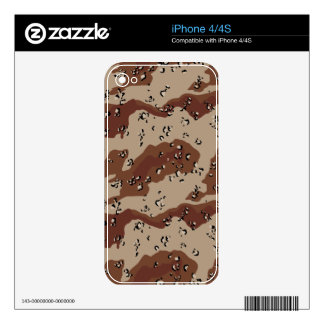 desert camo pattern camouflage print army skin for the iPhone 4