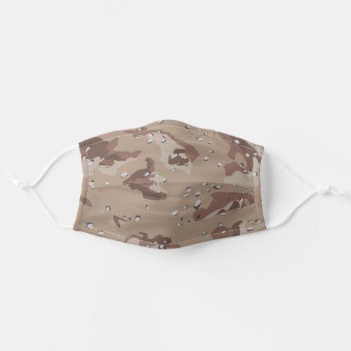 Desert Camo Pattern Cloth Face Mask