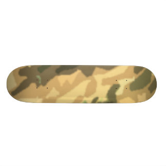 desert camo skateboard deck
