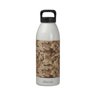 Desert Camo Drinking Bottle