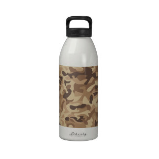 Desert Camo Water Bottle