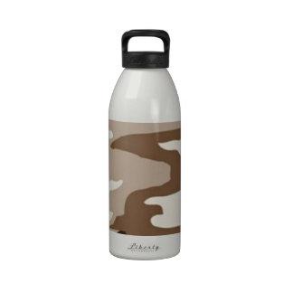 Desert camoflauge drinking bottle