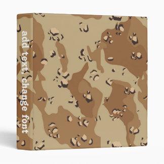 Desert Camouflage (1) 3 Ring Binder