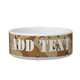 Desert Camouflage (1) Bowl