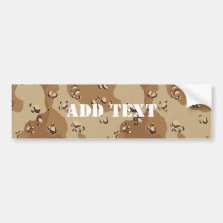 Desert Camouflage (1) Bumper Sticker