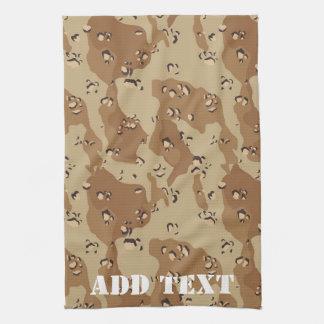 Desert Camouflage 1 Hand Towel