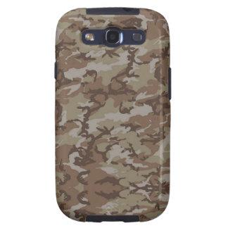 Desert Camouflage Background Samsung Galaxy SIII Cases