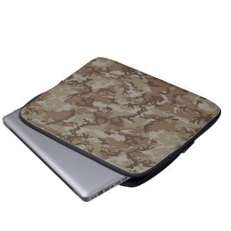 Desert Camouflage Background Laptop Computer Sleeves