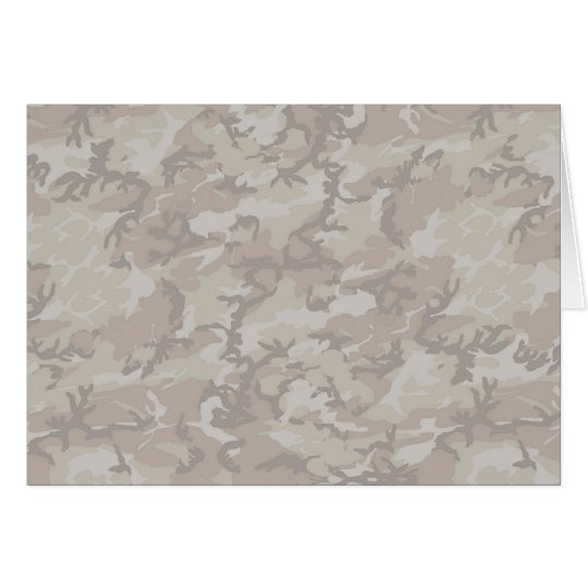 Desert Camouflage Background Lightened Card