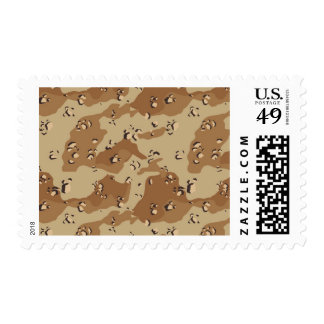 Desert Camouflage Background Template Stamp