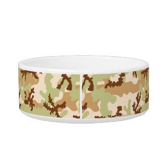 Desert camouflage bowl