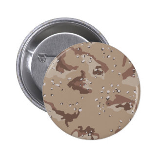 Desert Camouflage Button
