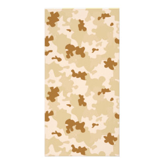 Desert Camouflage Card