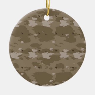 Desert Camouflage Christmas Ornament