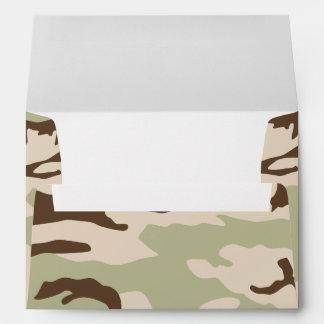 Desert Camouflage Envelope