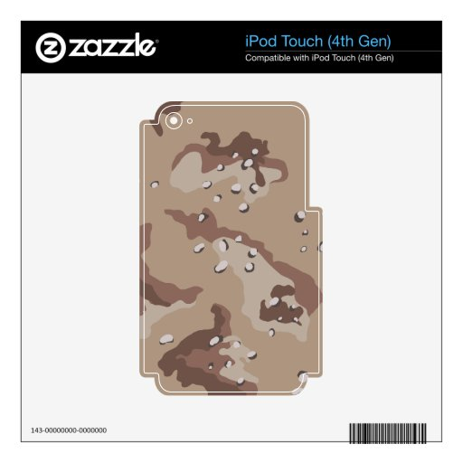 Desert Camouflage iPod Touch (4th Gen) Skins iPod Touch 4G Skin