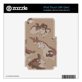 Desert Camouflage iPod Touch 4th Gen Skins iPod Touch 4G Skin