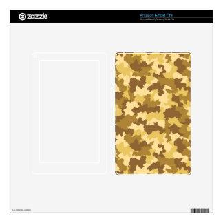 Desert Camouflage Kindle Fire Skin