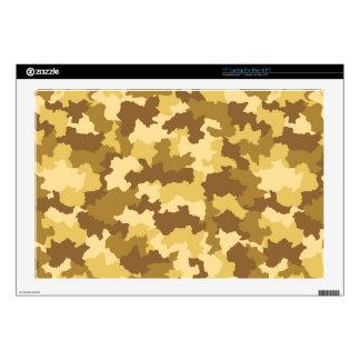Desert Camouflage Laptop Skin
